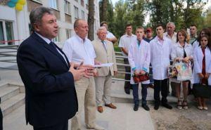 В Рубежном открыли общежитие для студентов-медиков и переселенцев (фото)