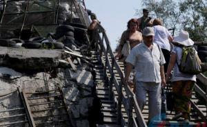 Мост в Станице Луганской по-прежнему находится в критическом состоянии