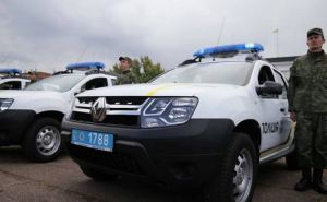 Полиция Луганской области получила 34 новых автомобиля (фото)
