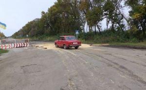 В Луганской области действуют три дезинфекционных барьера