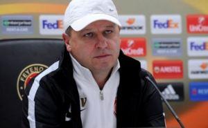 Главный тренер «Зари» остался недоволен результатом матча с «Фейеноордом»