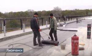 Мост между Лисичанском и Северодонецком сдадут в эксплуатацию в ноябре (видео)