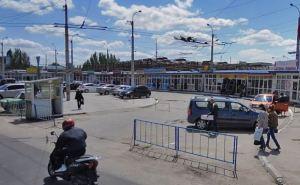 Возле Луганского базара оборудуют новый остановочный комплекс
