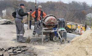 Работы по ремонту моста между Северодонецком и Лисичанском выполнены на 90%