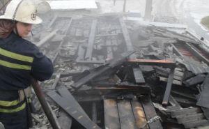В Стаханове произошел пожар в продуктовом магазине