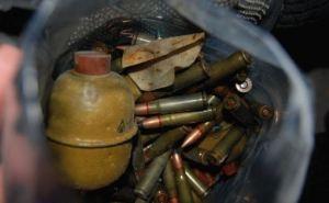 В Рубежном обнаружили тайник с боеприпасами (фото)
