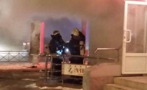 В центре Харькова произошел взрыв в кафе