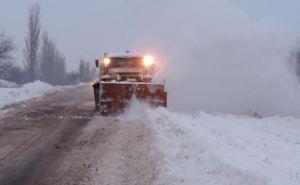 На дорогах Донецкой области из-за непогоды затруднено движение