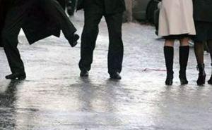 В Луганске жертвами гололеда ежедневно становятся около 40 человек