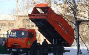 На некоторых улицах Луганска ограничили вывоз мусора