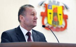 Поздравление мэра Луганска с Новым годом