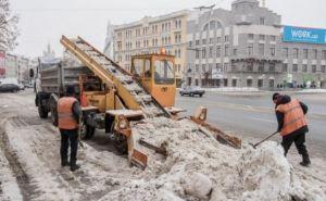 В Харькове за сутки вывезли более 2,6 тысячи тонн снега