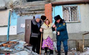 В Донецке эвакуируют жителей Киевского района (фото)