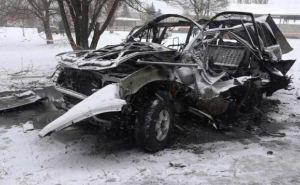 Взрыв автомобиля в Луганске. Погиб командир корпуса Народной милиции