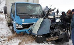 ДТП на трассе Знаменка-Луганск-Изварино. Погибли два человека (фото)