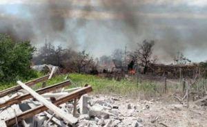 В Луганской области войной разрушены больше 7 тысяч домов