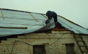 В Авдеевке восстанавливают частные дома, пострадавшие от обстрелов
