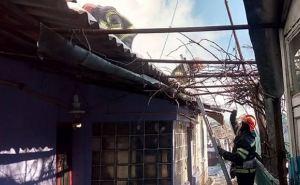 В Лисичанске при пожаре погибли два человека (фото, видео)