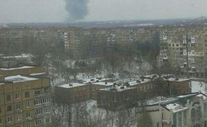 В Донецке утром 14февраля прогремел мощный взрыв