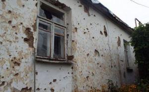 В Станично-Луганском районе с начала военных действий повреждены 3417 домов