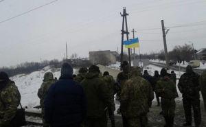 Участники блокады Донбасса отказались сдавать оружие полиции