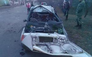 В Станично-Луганском районе в ДТП пострадали четыре человека (фото)