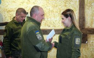 В Луганской области наградили женщин— участниц АТО
