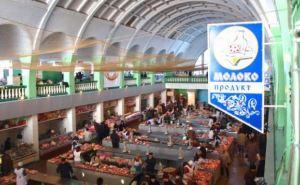 В Луганске продолжается реконструкция Центрального рынка (видео)