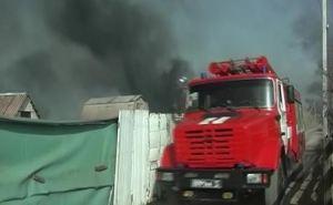В Большой Вергунке пожаром уничтожены 13 домов (фото)