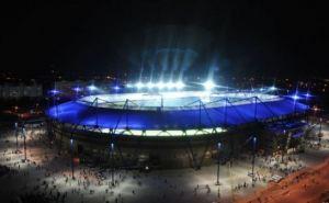 В Харькове возле стадиона «Металлист» ограничено движение транспорта