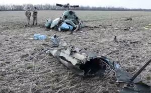 В районе Краматорска разбился военный вертолет (видео)