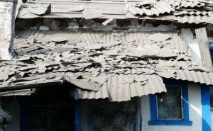 В Стаханове от обстрела пострадали более 10 жилых домов
