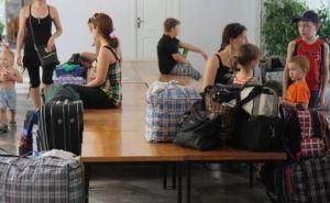 Большая часть переселенцев в Луганской области— женщины