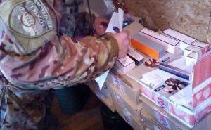 На пункте пропуска в Станице Луганской задержали контрабанду косметики