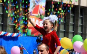 Как в Луганске отметили 1мая (фоторепортаж)