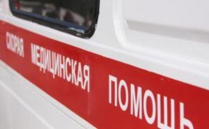 В Луганске на пожаре спасли женщину