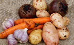 Цены на продукты питания в Луганской области