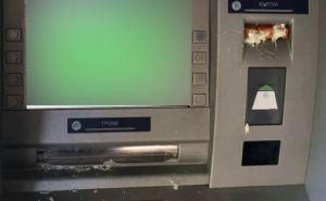 В центре Харькова залили монтажной пеной банкоматы (фото)
