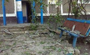 Последствия обстрела Кировска (фото)
