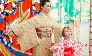 В Харькове открылась выставка кимоно