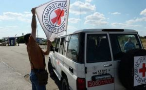 Красный Крест отправил 350 тонн гуманитарной помощи на Донбасс