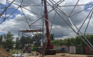 В Луганской области строят новую телебашню (фото)