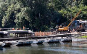 В районе Новодружеска идет капремонт моста через Северский Донец (фото)