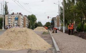 Новый путепровод в Луганске откроют для проезда транспорта с 1июля