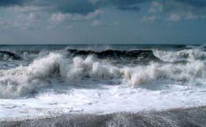 На побережье Азовского моря разыгралась песчаная буря