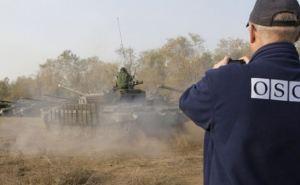 Никакого отведенного вооружения. ОБСЕ зафиксировала передвижение танков на Донбассе