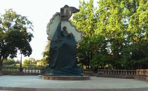 От попытки подрыва памятника в Луганске никто не пострадал
