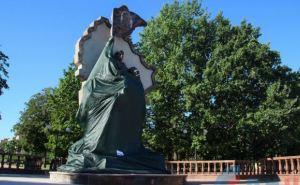 Подрыв памятника в Луганске квалифицировали как теракт