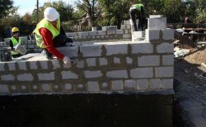 В Луганске в 1,5 раза увеличился объем строительных работ