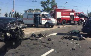 В центре Донецка произошло крупное ДТП. Есть погибшие (фото)